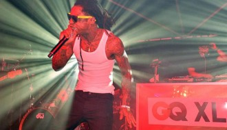 Image of Lil Wayne Bodies GQ Super Bowl Party in 20 Minutes