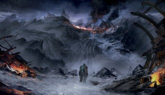 Image of The cold, terrifying artwork of Dead Space 3